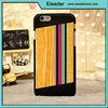 for designed wood iphone 6, wood pattern plastic cover for iphone6