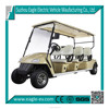 6 passenger golf cart, left steering/right steering,pure electric
