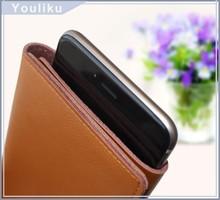 new products genuine leather phone case for cell phone/cell phone pouch for iphone