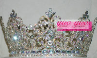 hot selling wholesale beauty fashion princess crowns for girls