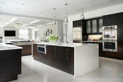 natural maple shaker cherry wood simple design self assemble kitchen cabinets