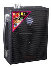 Hifi outdoor 6.5 inch battery speaker bluetooth with mic speaker