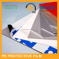 Hot Selling Polyethylene Adhesive PE Protective Film for Stainless Steel
