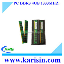 Alibaba export full compatible desktop ram 4gb ddr3 1333mhz with ETT chips