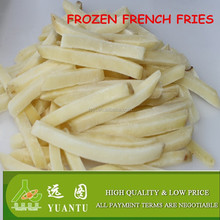 hot sale natural length frozen french fries
