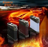 e cigarette 200 watt Mod vs kamry 20, kamry 100 box mod wooden battery tube