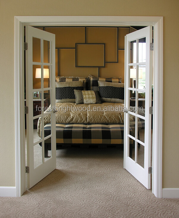 swing type patio doors white wooden double french doors ForDouble Swing French Patio Doors