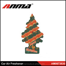 2015 Best Selling Custom Cute Auto Car Paper Air Freshener