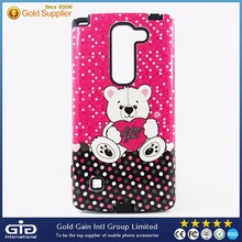 [GGIT] Best Quality 2 in 1 Custom Design Mobile Phone PC Case for LG G2 with Soft TPU Inside