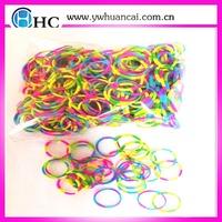Popular opp/box packaging DIY bracelets rubber loom band kits