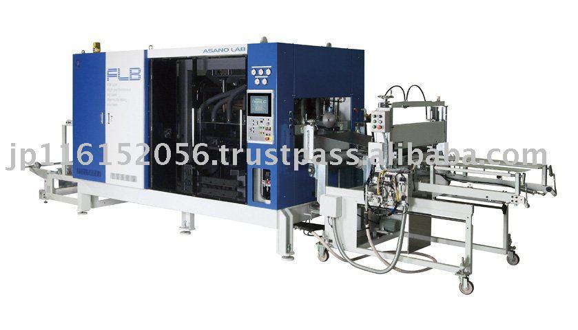 Alta - mix baixo volume de produção compatível pequeno contínua vácuo máquina de termoformagem ( FLB )
