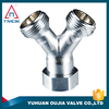 Brass Fitting 1/2 inch high pressure full port and forged blasting nickel-plating CE approved NPT threaded connection in TMOK