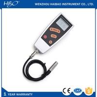Range 0~1250um NDT split type paint film thickness measuring instrument