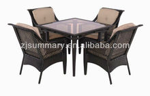 2013 hot sale waterproof uv protection outdoor furniture dinning series