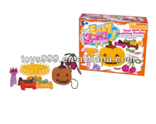 Manual Knitting Wool Cross Stitch Pumpkin and Cherry for Beginner STP-226139