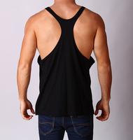 custom y back preshrunk 100% cotton mens fishing vest