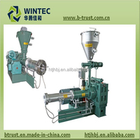 China Plastic Extruder Machine with German Extruder's Technology
