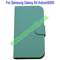 Vertical Stripes Leather Case for Samsung Galaxy S4 Active i9295