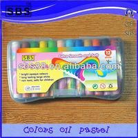 12 color oil pastel art coloring set