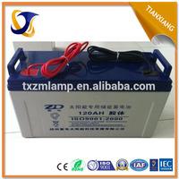 2015 long life span waterproof 12v 50ah lead acid battery