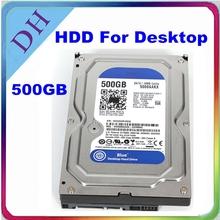 ¡Caliente! Disco duro de 500 GB / disco duro interno para el escritorio