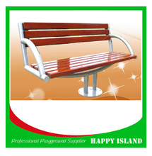2015 popular park bench design Chinese manufacturer Cast Iron Wood Bench Solid Pine Wood Bench Outdoor Bench Wooden Bench
