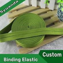 De color tejida cinta bies cinta banda elástica