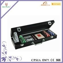 100pcs Poker Chip Set in Wood Case