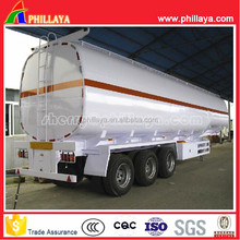 50000 Liters fuel tank semi trailer/ Diesel/Oil tanker trailer for promotion