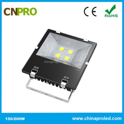 Professional Perfect LED Flood Light 200W Meanwell Driver 3 Years Warranty with Heat Copper pipes