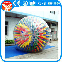 Inflatable zorb ball kids love