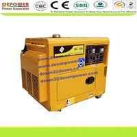 air cooled,3phase,1phase,6kva,5kva silent diesel generator price