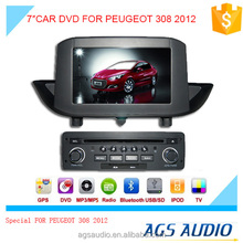 "7""special touch screen for PEUGEOT 308 Car radio with DVD Player GPS navigation bluetooth RDS SD"