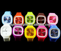 New Fashion Switch jelly strap watch