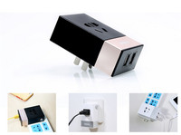 Remax Quick Charge 3.1A dual Ports USB Charger Wall Travel Charger for iPhone for iPad Tablet PC 2.1A Socket Power Charger