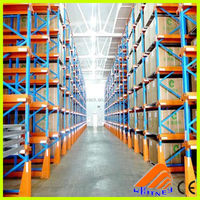 high desity pallets racking heavy duty storage FIFO drive in rack,heavy duty metal shelves,collapsible storage rack