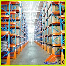 high desity pallets racking heavy duty storage FIFO drive in rack,heavy duty metal shelves,collapsible storage rack