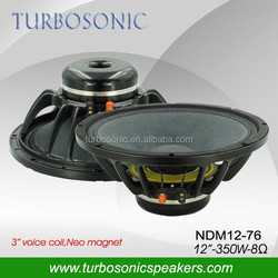 "high efficiency 100db 12"" Neo speaker for line array system"