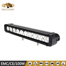 17 INCH 100w multi color remote control 100W led light bar KR9011-100 led headlight