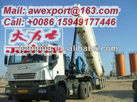 Hydraulic Tipping Three-Axle 27000L Oil Field Vacuum Suction Semi Trailer For Sale