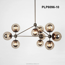 Replica Modern Jason Miller Modo Chandelier Iron Glass Pendant for home, bar, cafe, hotel PLP8096