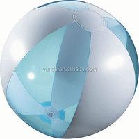 clear pvc inflatable beach ball inflatable transparent pvc beach ball toys