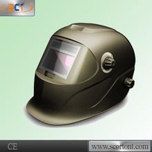 PP full face auto darkening flip up welding helmet