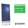 Bluesun TUV high efficient mono 156 cells solar panels factory direct
