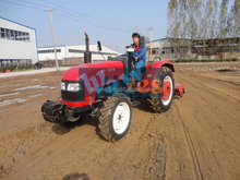 chinese cheap 4wd 40hp tractor with front end loader and backhoe