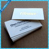 Letterpress business card printing 600gsm cotton paper with gold foil printing