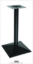 2014 hot sale high quality cast iron metal dining table leg for furniture legs supplier china
