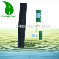 high quality 2 PC pe pressure compensation drip pipe for irrigation system