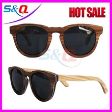 Pear Bamboo wooden sunglasses polarized lens CE