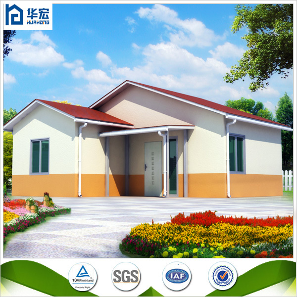 Luxury good quality prefabricated modern houses and villa for Modern quality homes